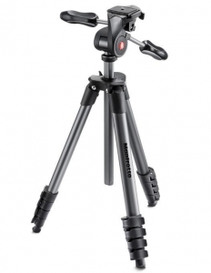 Manfrotto Compact Advanced kit trepied foto cu cap 3-Way si husa2