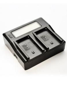 Digital Power Incarcator dual LCD pentru acumulator Sony NP-FM50/0
