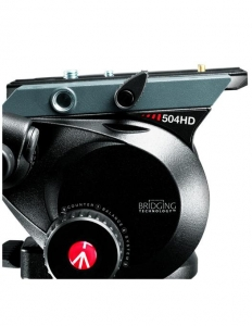 Manfrotto kit trepied video 504HD,535K