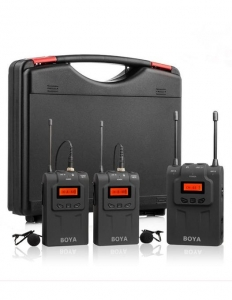 Boya BY-WM8 PRO K2 lavaliera dubla wireless
