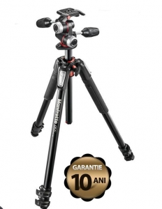 Manfrotto 055XPRO3-3W kit trepied foto0