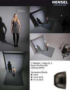 Hensel reflector 18cm 5043