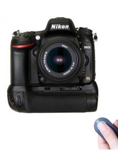 Digital Power grip cu telecomanda pentru Nikon D600/D6104