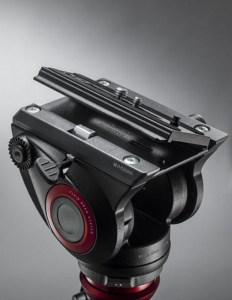 Manfrotto MVK500AM Kit trepied video cu cap fluid [2]