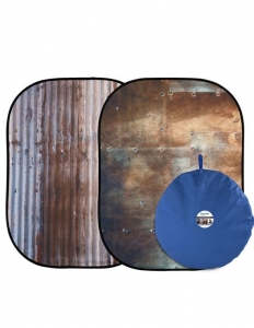 Lastolite Fundal pliabil Corrugated/Metal 1.5x2.1m0