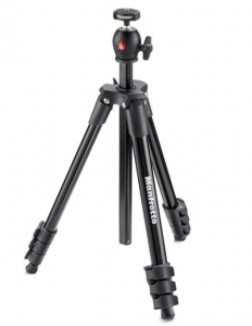 Manfrotto kit trepied Compact Light Black, open box2