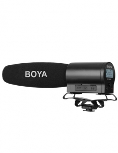 Boya BY-DMR7 microfon shotgun cu flash recorder integrat [0]