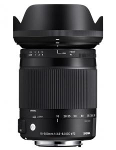 Sigma 18-300mm Obiectiv Foto DSLR f3.5-6.3 DC MACRO OS HSM C CANON