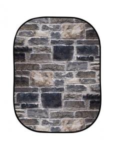 Lastolite fundal pliabil Red Brick/Grey Stone 1.5 x 2.1m2