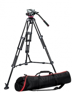 Manfrotto MVH502A,546BK Kit trepied video0