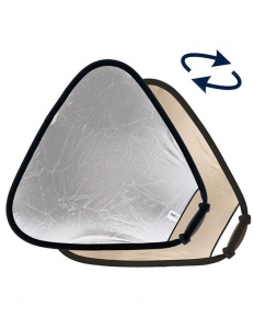 Lastolite Trigrip Reflector Sunlite/Soft Silver 75cm0