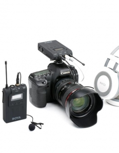 Boya BY-WM6 Kit lavaliera wireless3