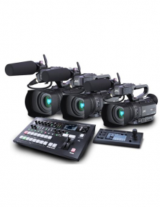 KIT Live Multicam HM250E Roland V-60HD0
