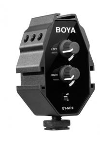 Boya BY-MP4 adaptor audio0