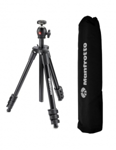 Manfrotto kit trepied Compact Light Black0