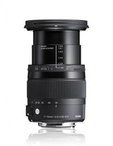 Sigma 17-70mm Obiectiv foto DSLR f2.8-4 DC Macro OS HSM C CANON2