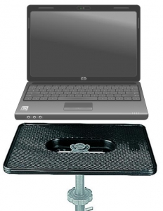 Manfrotto platforma laptop