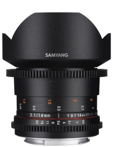 Samyang 14mm T3.1 VDSLR  MFT ED AS IF UMC II0