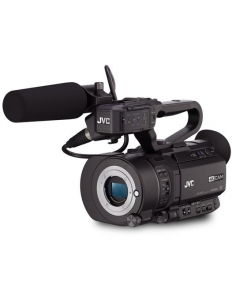 Pachet JVC GY-LS300CHE 4K Camera Video Super 35mm + Manfrotto CC 193N geanta video + Kit  MVK500AM trepied video0