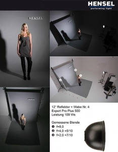Hensel reflector 30cm 9601