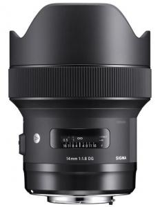 Sigma 14mm Obiectiv Foto DSLR f1.8 DG HSM ART Canon Cutie alba [0]