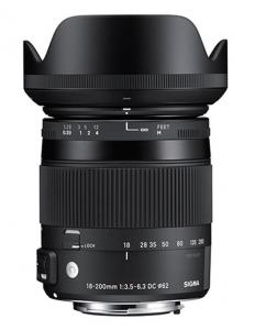 Sigma 18-200mm Obiectiv Foto DSLR f3.5-6.3 DC Macro OS HSM C CANON2