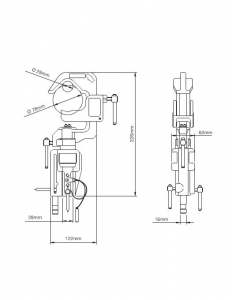 Avenger C150 dispozitiv prindere1
