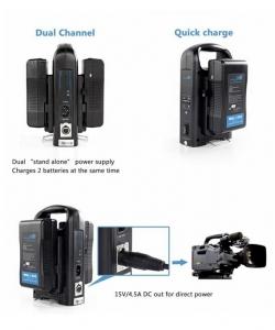 Digital Power BP-190WS Incarcator V-Mount compatibil Sony2