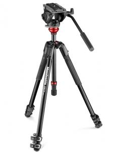 Manfrotto Kit video interviu MVK500 cu LED si microfon1