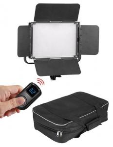Tolifo GK-S60 LED Bicolor/RGB cu softbox si stativ [8]