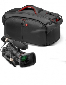 Pachet JVC GY-LS300CHE 4K Camera Video Super 35mm + Manfrotto CC 193N geanta video + Kit  MVK500AM trepied video2
