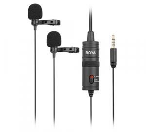 Boya BY-M1DM microfon lavaliera dubla6
