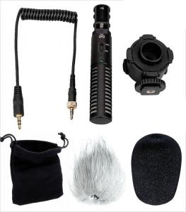 Boya BY-PVM50 Microfon Stereo cu Shock-mount1