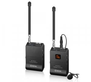 Boya BY-WFM12 VHF lavaliera wireless0