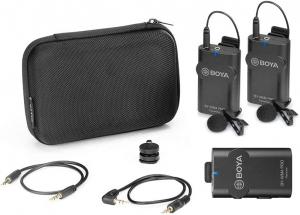 Boya BY-WM4 Pro-K2 Microfon Lavaliera Wireless Dubla3