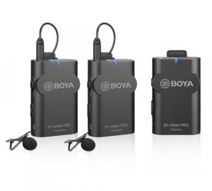 Boya BY-WM4 Pro-K2 Microfon Lavaliera Wireless Dubla2