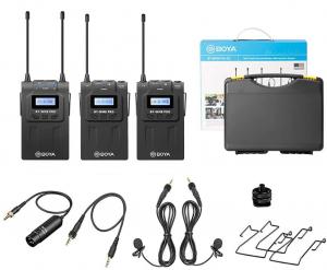 Boya BY-WM8 PRO K2 lavaliera dubla wireless7