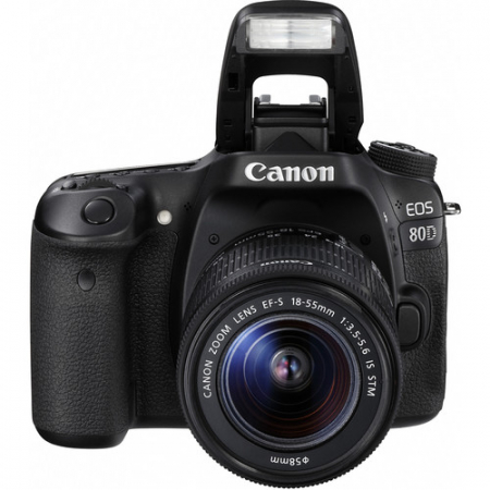 Canon EOS 80D Aparat Foto DSLR 24.2MP Kit cu Obiectiv EF-S 18-55 IS STM [2]