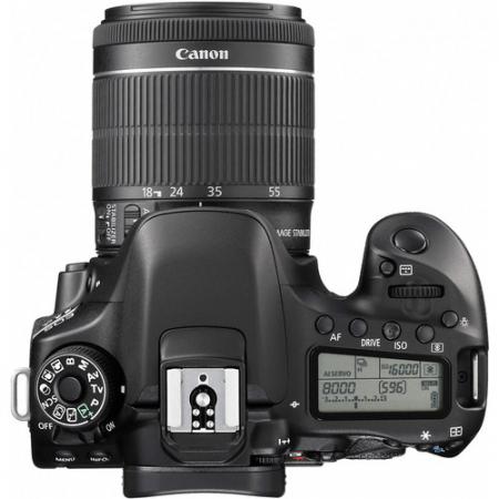 Canon EOS 80D Aparat Foto DSLR 24.2MP Kit cu Obiectiv EF-S 18-55 IS STM [3]