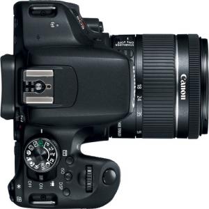 Canon EOS 800D Kit Aparat Foto DSLR 24.2MP cu Obiectiv EF-S 18-55mm f/4-5.6 IS STM3