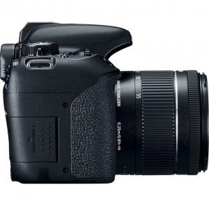 Canon EOS 800D Kit Aparat Foto DSLR 24.2MP cu Obiectiv EF-S 18-55mm f/4-5.6 IS STM1