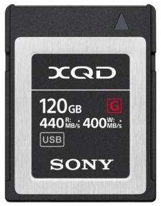 Sony Card memorie XQD 120GB Serie G 400MB/s [0]