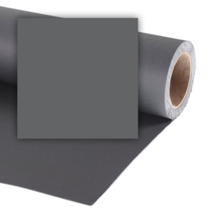Colorama fundal foto gri Charcoal 2.72 x 11m0
