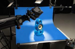 Colorama fundal PVC Electric Blue [0]