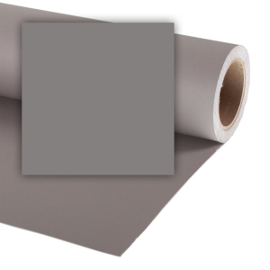 Colorama fundal foto gri Smoke Grey 2.72 x 11m