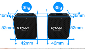 Synco G1 Lavaliera Wireless cu microfon incorporat10