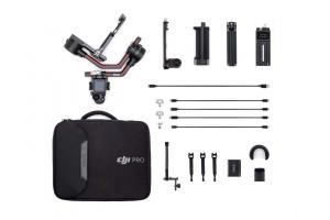 DJI RS 2 Ronin S2 stabilizator gimbal + suport pentru microfon CADOU2