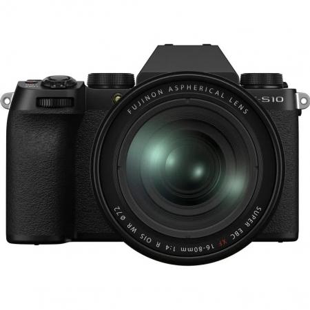 Fujifilm X-S10 Kit cu Obiectiv XF 16-80 mm