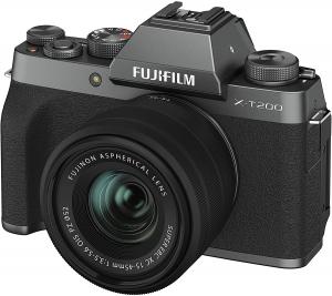 Fujifilm X-T200 Dark Silver Aparat Foto Mirrorless Kit cu obiectiv 15-45mm3