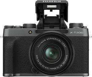 Fujifilm X-T200 Dark Silver Aparat Foto Mirrorless Kit cu obiectiv 15-45mm2